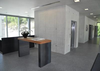 Eingang Büro Hauri