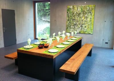 Tisch gedeckt 2 Büro Hauri